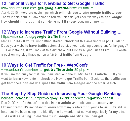 How to know whether my blog post will attract traffic or not
